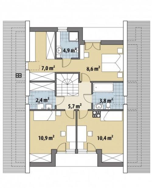 Проект дома м366