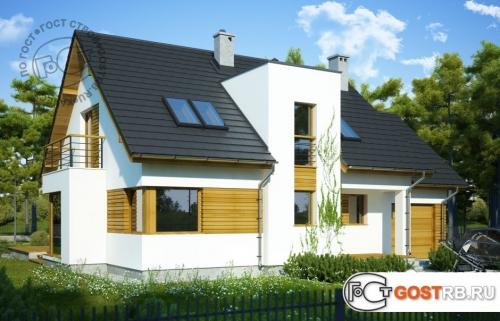 Проект дома м417