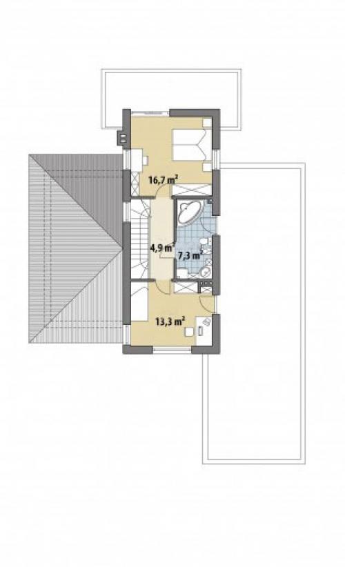 Проект дома д446