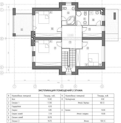 проект дома м499