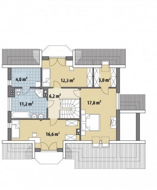 Проект дома м450