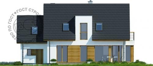 Проект дома м422