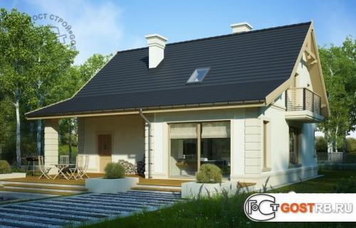 Проект дома м424