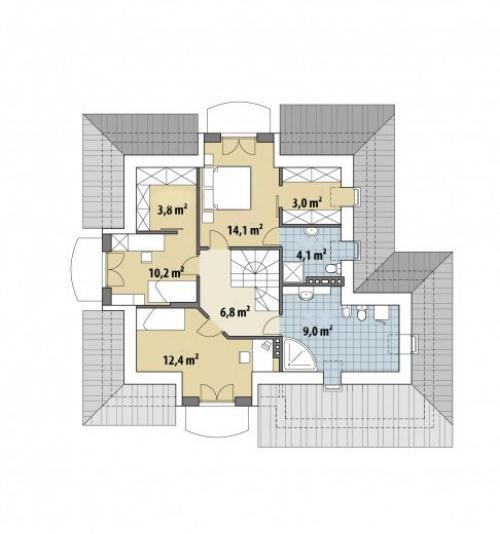 Проект дома м426