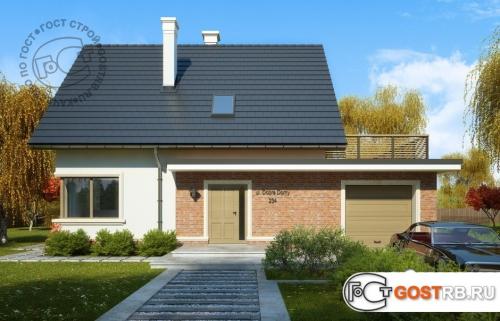 Проект дома м431