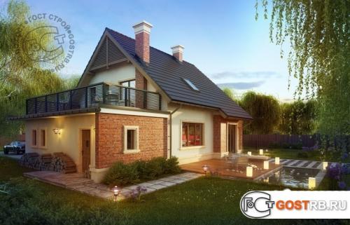 Проект дома м432