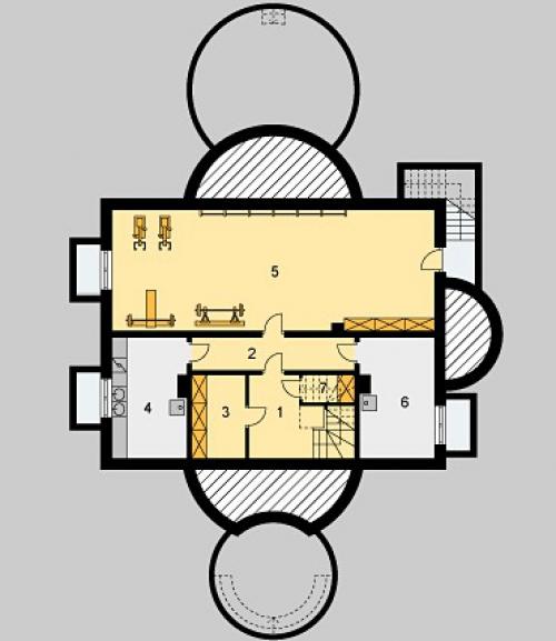 проект дома д509