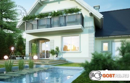 Проект дома м433