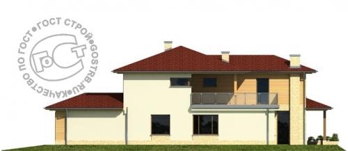 Проект дома м438