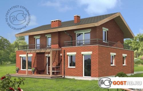 Проект дома м443