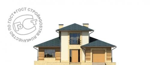 Проект дома д445