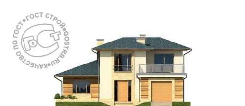 Проект дома д447