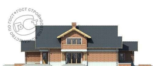 Проект дома м453