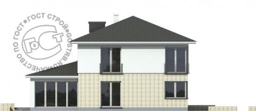 Проект дома д455