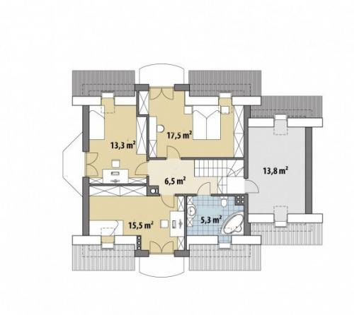 Проект дома м229