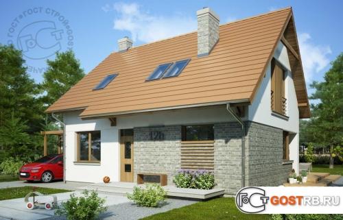 Проект дома м230