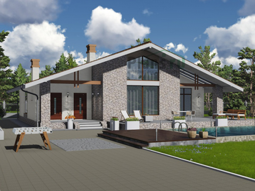 проект дома д1918