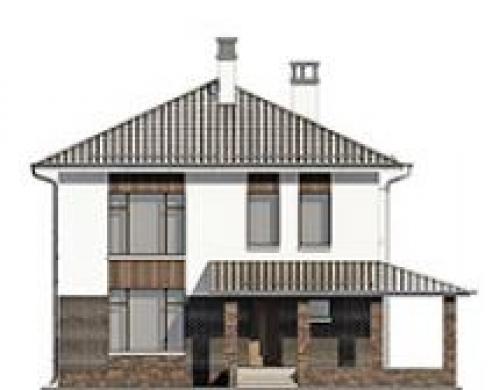 проект дома д1909