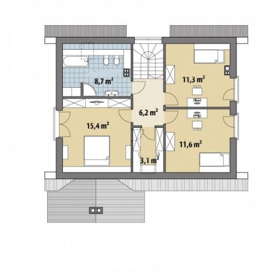 Проект дома м236