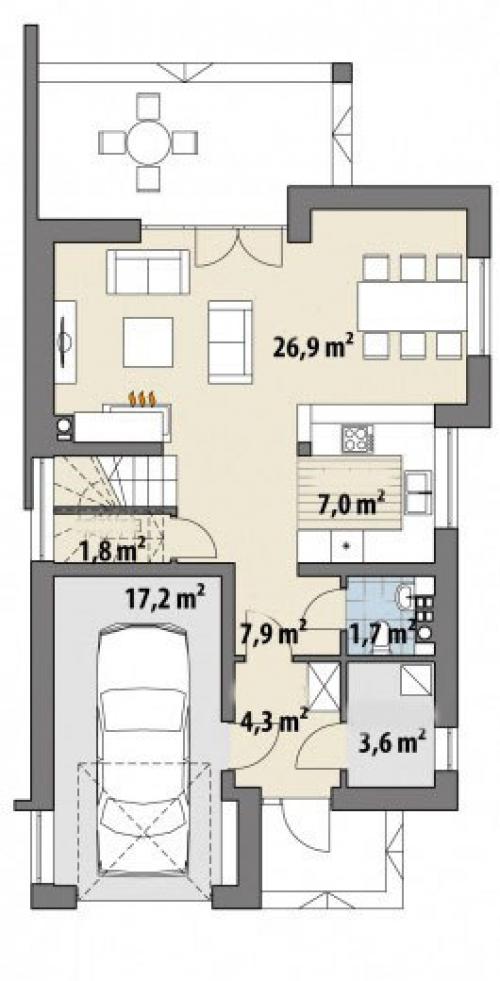 Проект дома м240