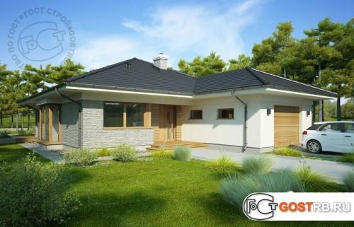 Проект дома м242