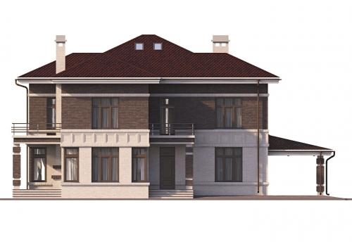 проект дома д500