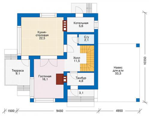 проект дома д1901
