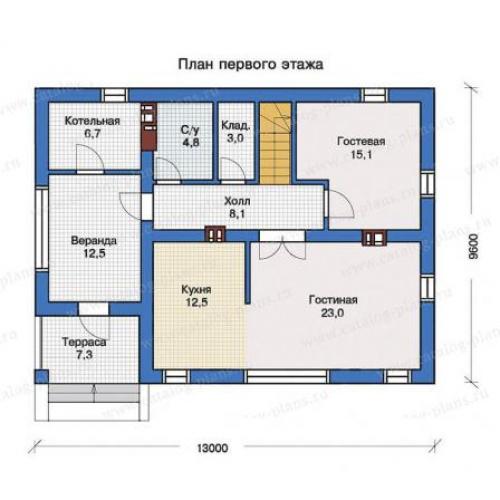 проект дома д1923