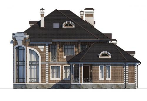 проект дома м496