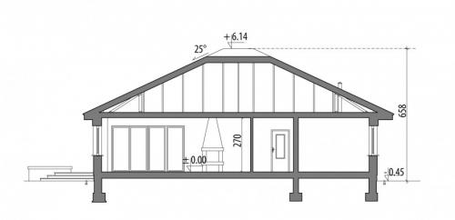 Проект дома м250