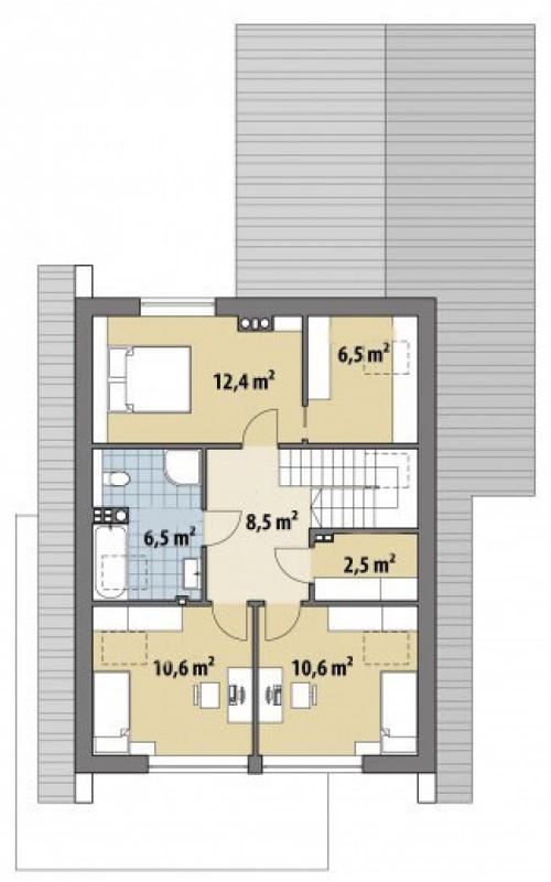 Проект дома м252
