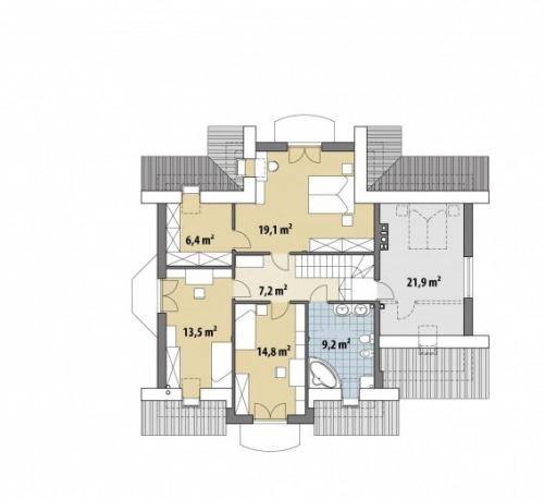 Проект дома м253