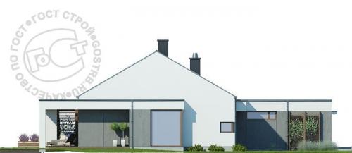 Проект дома м257