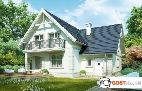 Проект дома м258