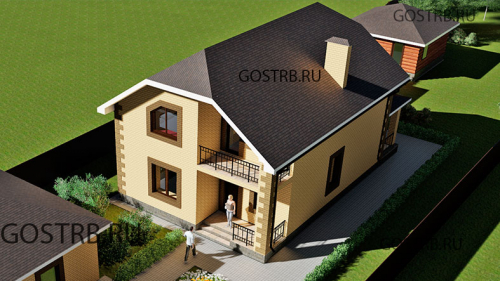 проект дома м885