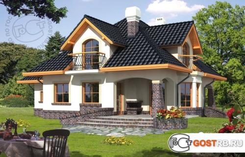 Проект дома м265