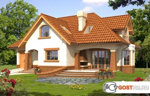 Проект дома м276
