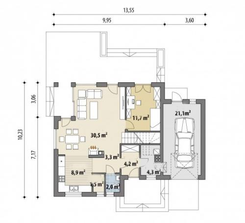 Проект дома м278