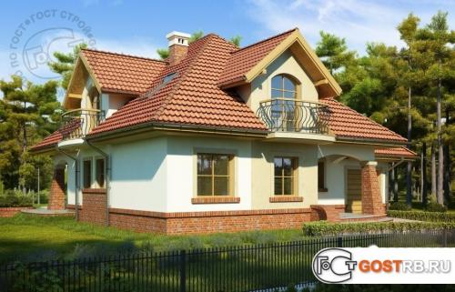 Проект дома м292