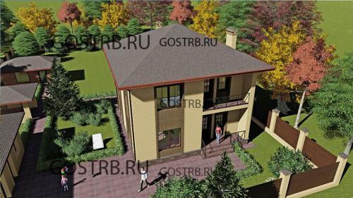 Проект дома д2807