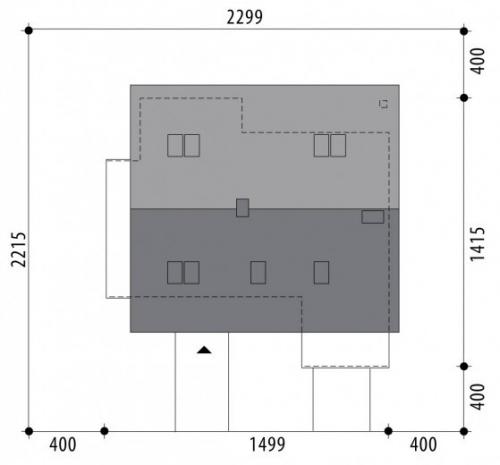 Проект дома м296