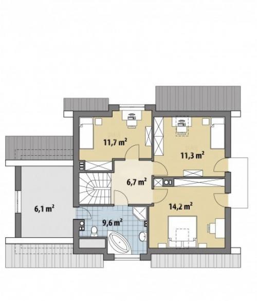Проект дома м297