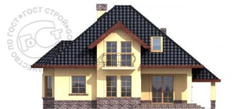 Проект дома м298