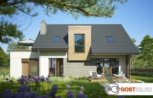 Проект дома м299