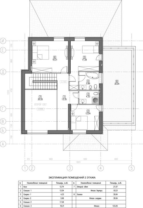 проект дома м490
