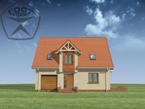 Проект дома м104