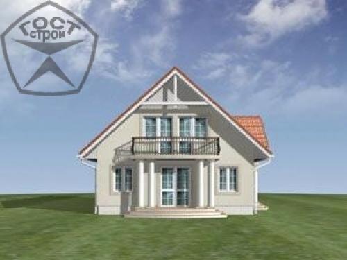 Проект дома м108