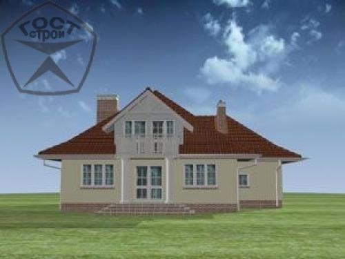 Проект дома м10