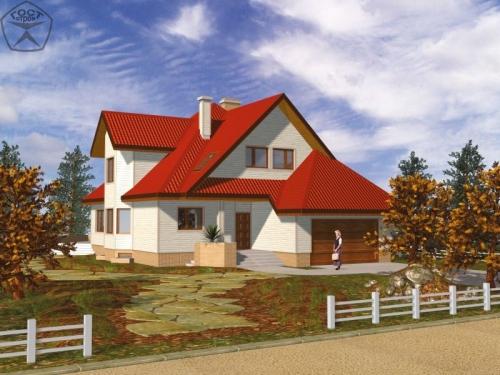 Проект дома м123