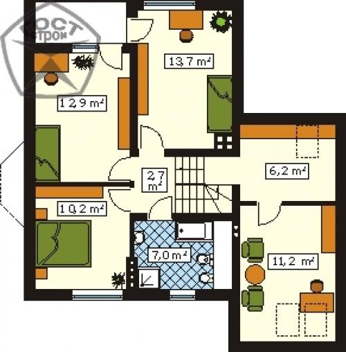 Проект дома м126